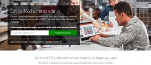 Office 365 Öğrenci Ücretsiz 1